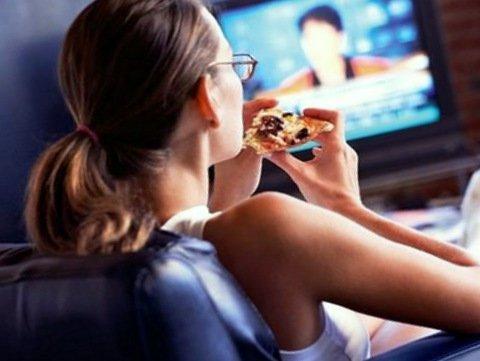 Аюрведа хранене пред телевизора