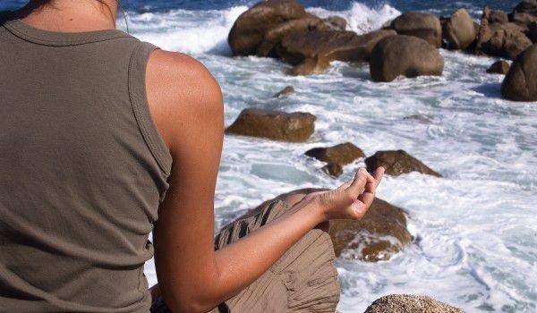 Медитация до реката